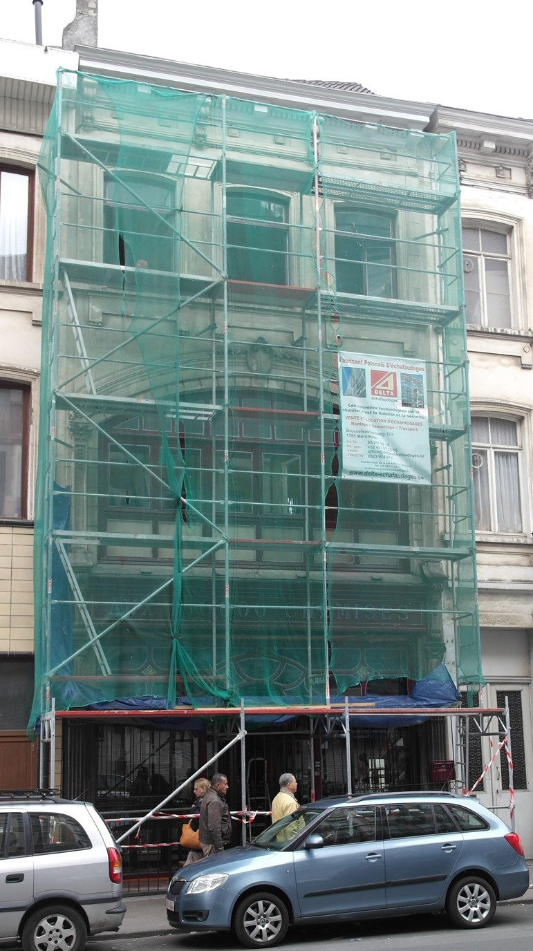 Rue du Comte de Flandre 38, 2015