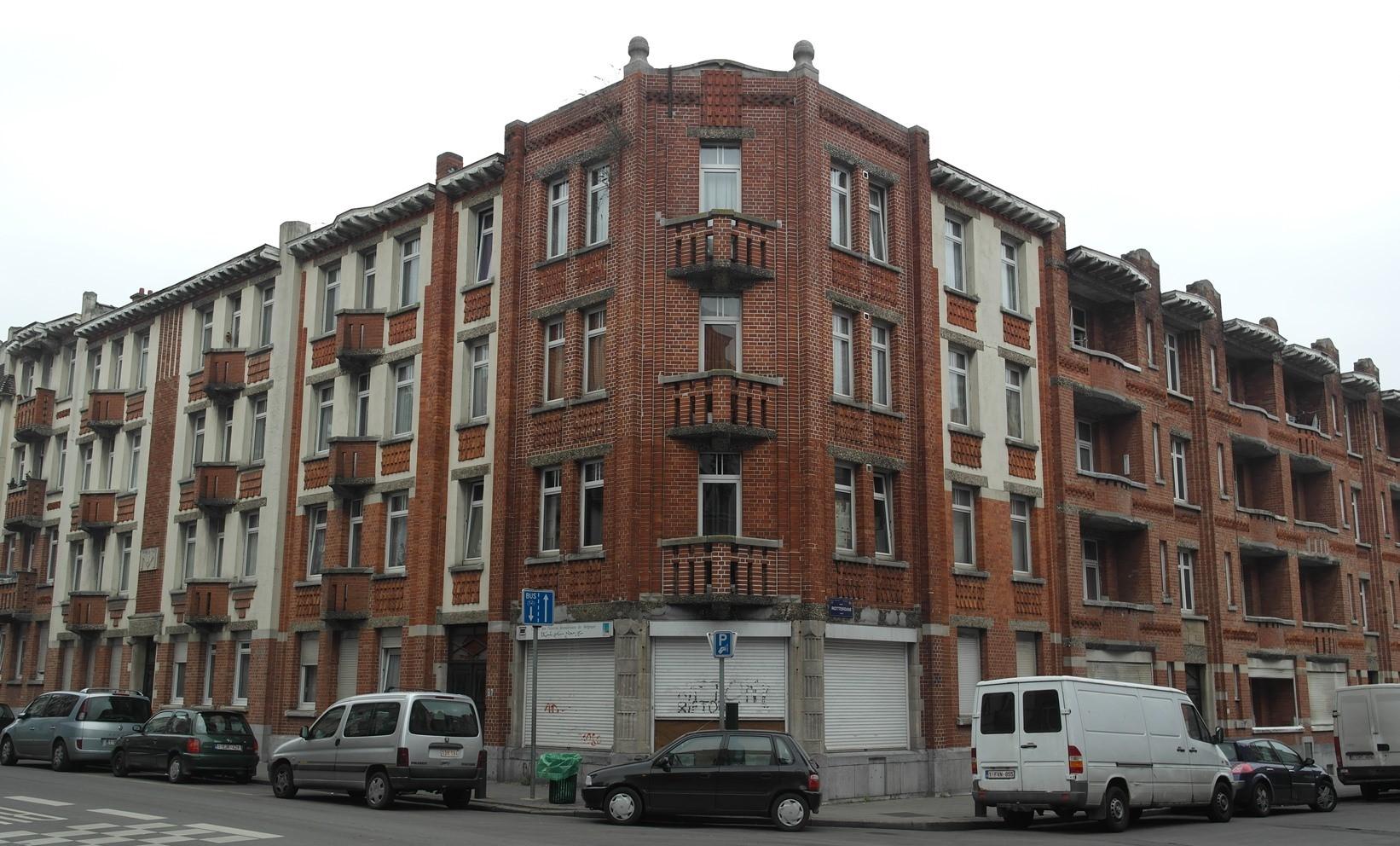Rue de l'escaut 81 à 87 et rue de Rotterdam 9 à 13, 2015