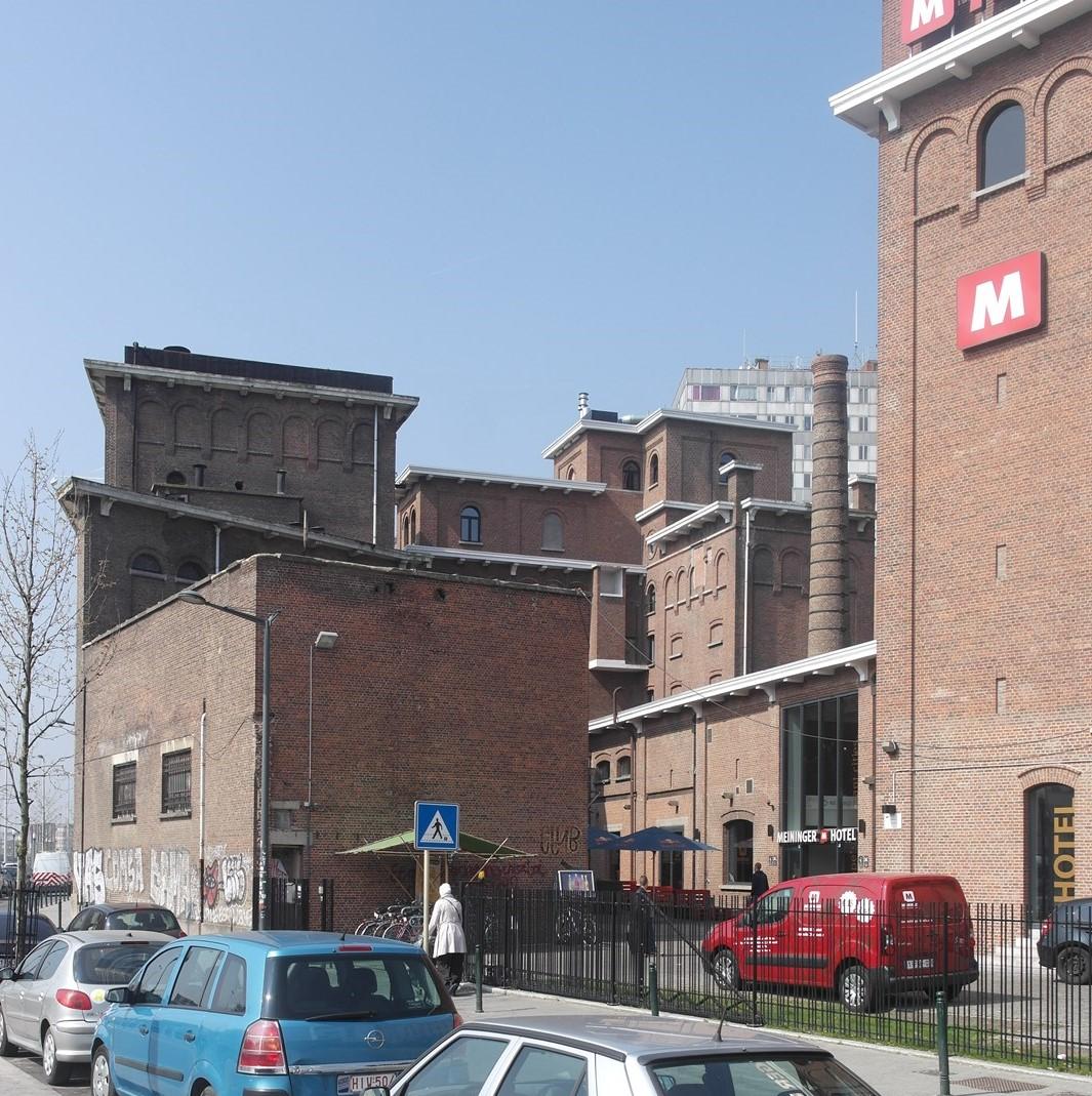 Quai du Hainaut 33, ancien brasserie Belle Vue, 2015