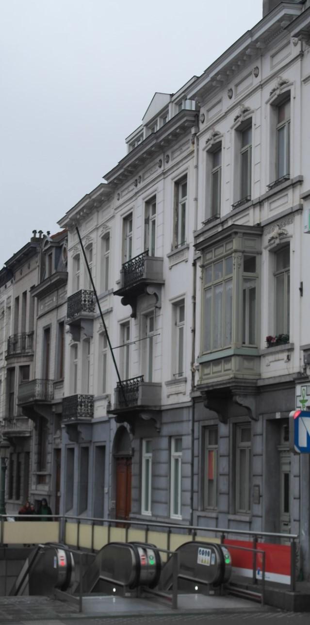 Boulevard Leopold II 130, 132 et 134, 2016