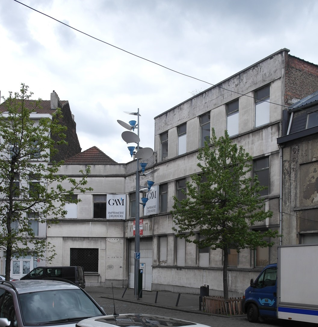 Rue de Manchester 13-15, anciens Etablissemnts Veuve Ed. De Raet, 2015