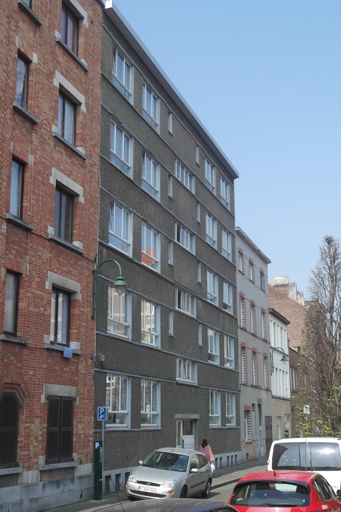 Rue de la Savonnerie21 et rue Delaunoy 79-81, bâtiment côté rue de la Savonnerie, 2015