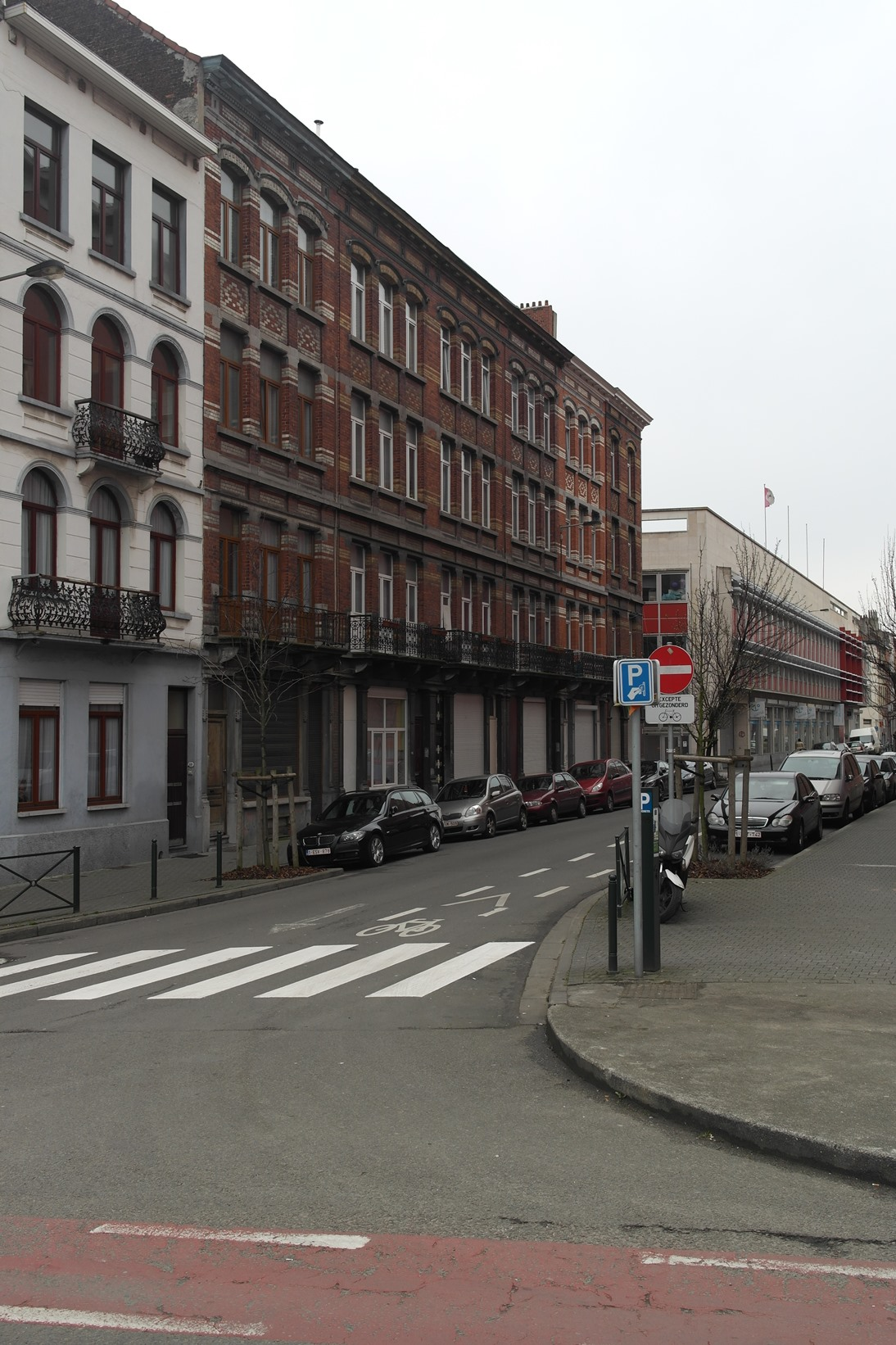 Rue Vandenboogaerde 99, 101, 103, 105, 107 et rue Le Lorrain 113, 115, 2015