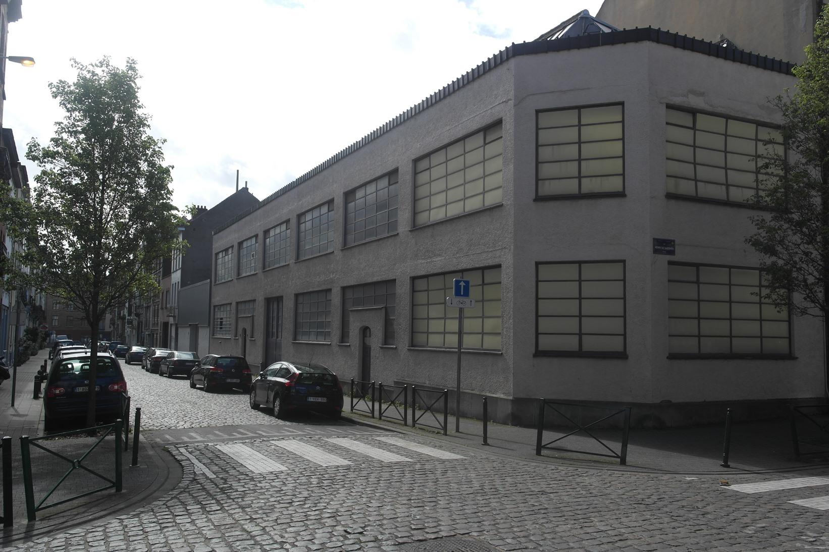 Rue Van Malder 34-40, à l'angle de la rue Henri De Saegher, 2015