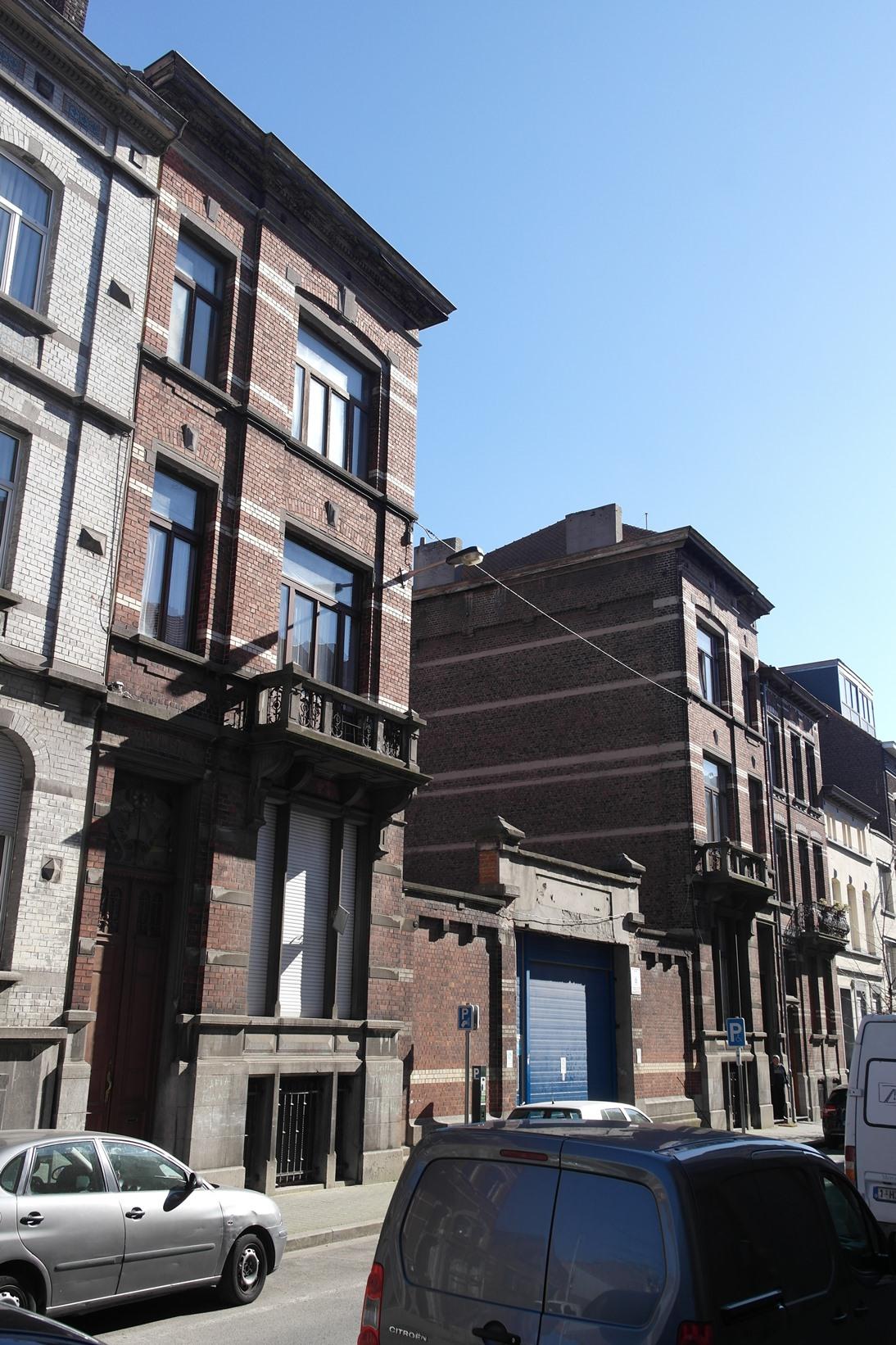 Rue Van Meyel 47, 49 et 51, 2015
