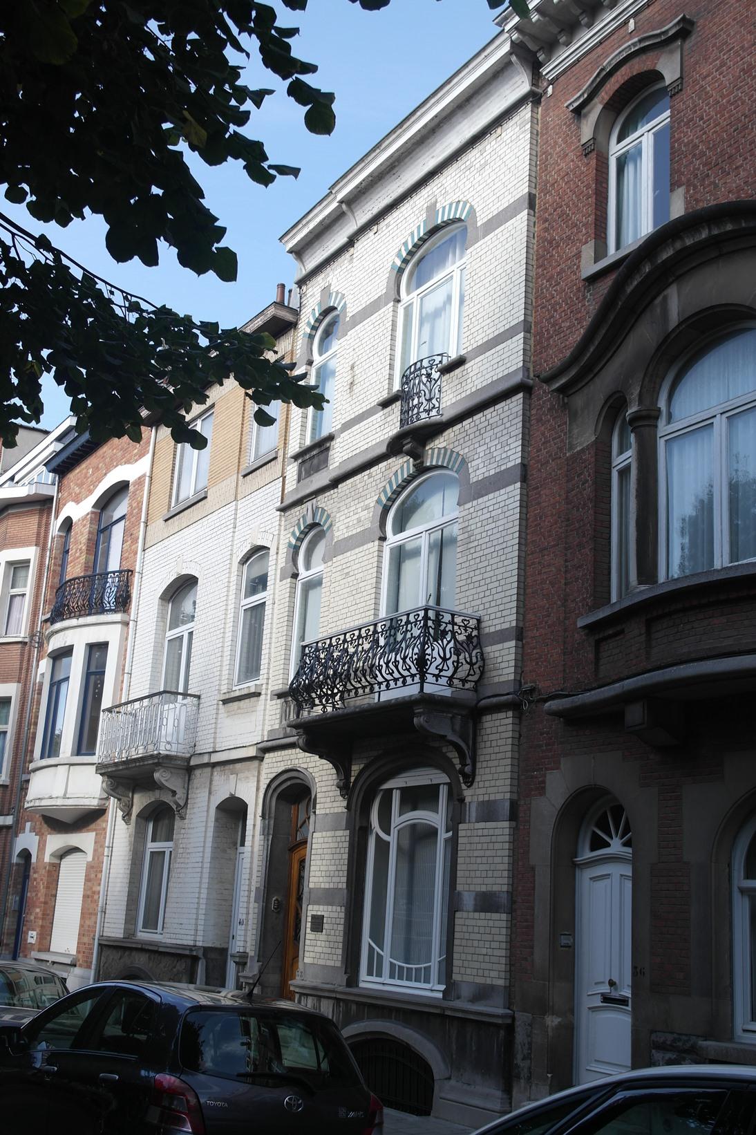 Avenue de l'Indépendance Belge 38, 2014