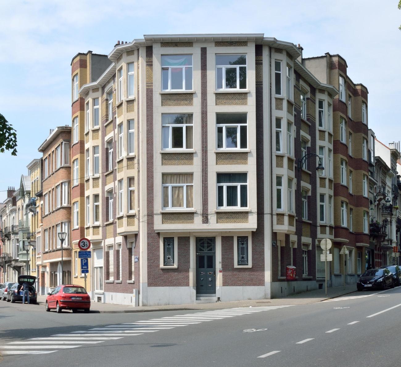 Avenue du Panthéon 31-32, avenue de l'Indépendance Belge 6, 2018