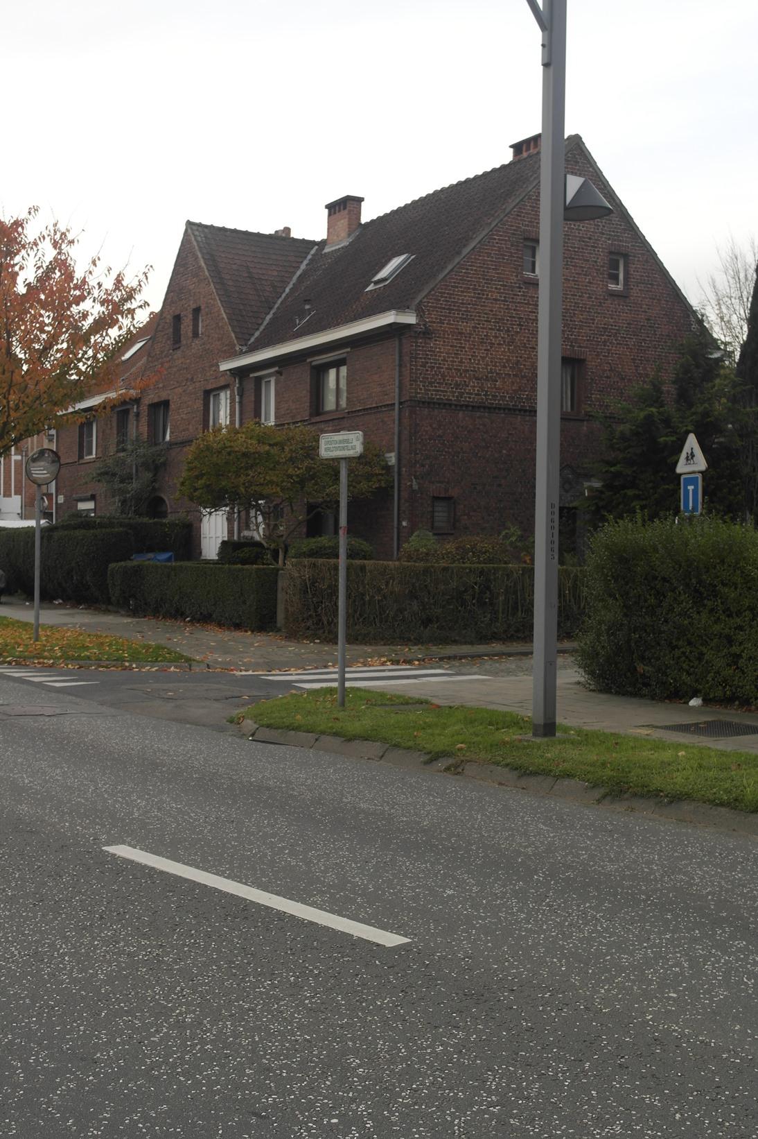 Cité jardin Heideken. Square du Centenaire 16, 17, 18 et 19, 2014