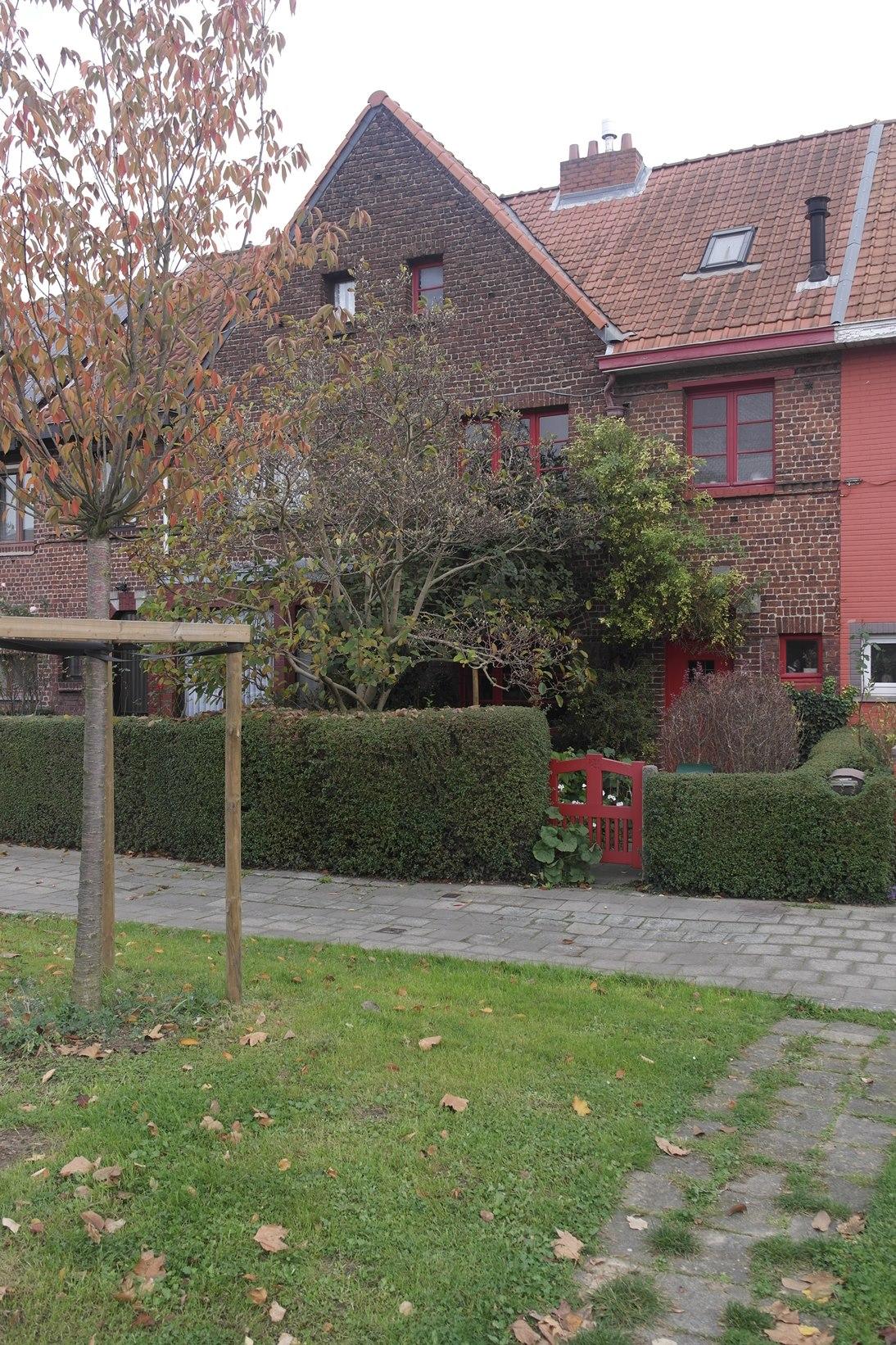 Cité jardin Heideken. Square du Centenaire 23, 24, 2014