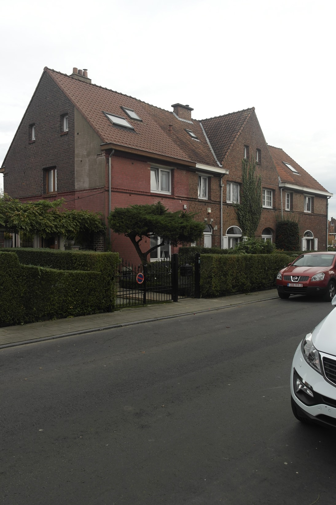 Cité jardin Heideken. Drêve du Château 2 à 8, 2014