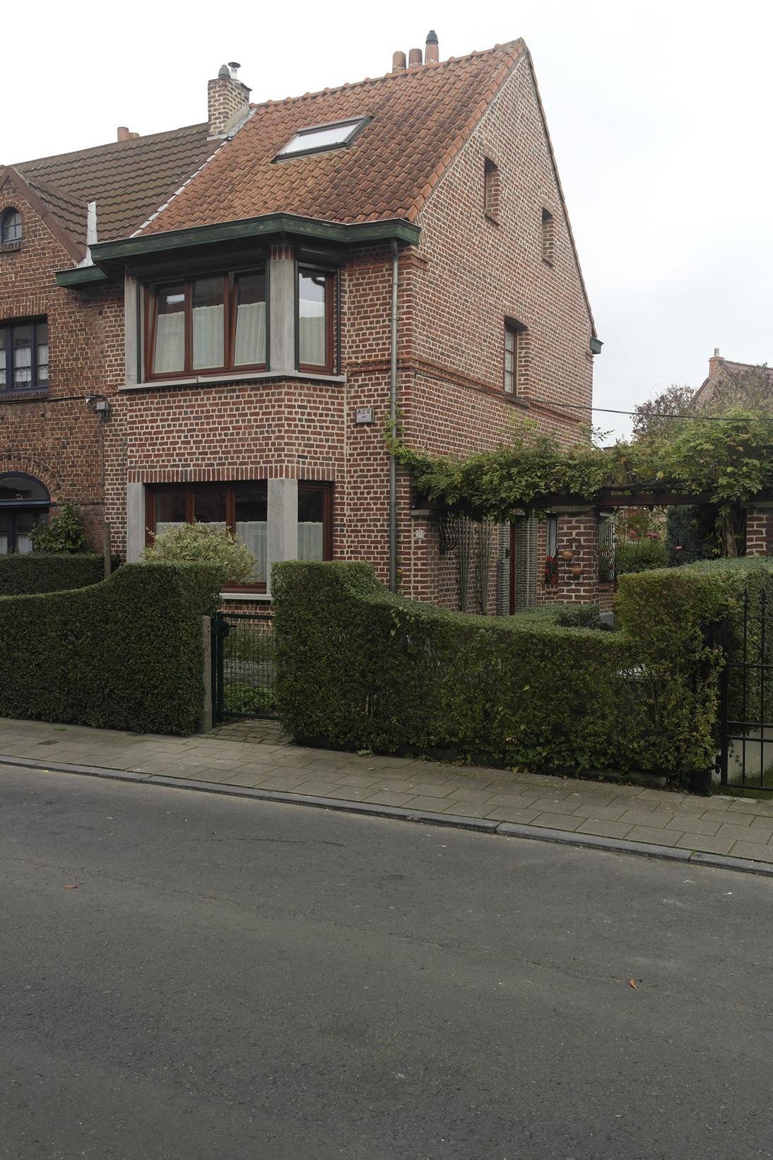 Cité jardin Heideken. Drêve du Château 10, 2014