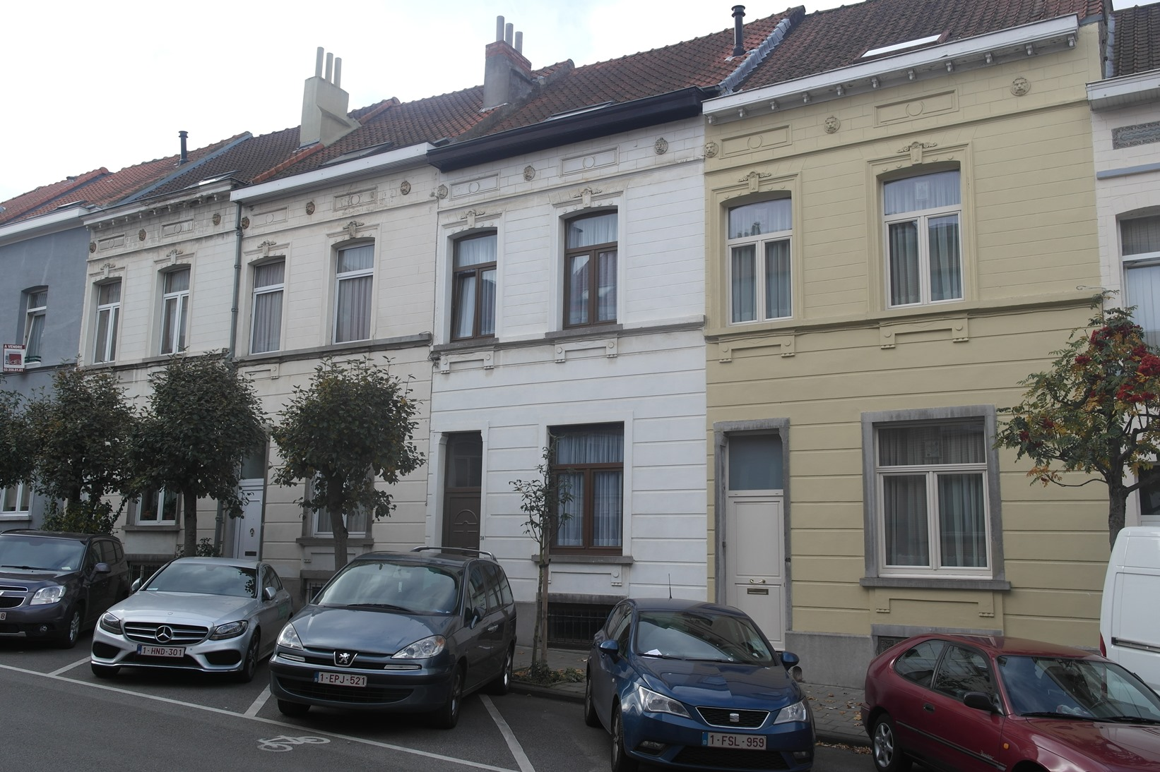 Rue Pangaert 34 à 40, 2014