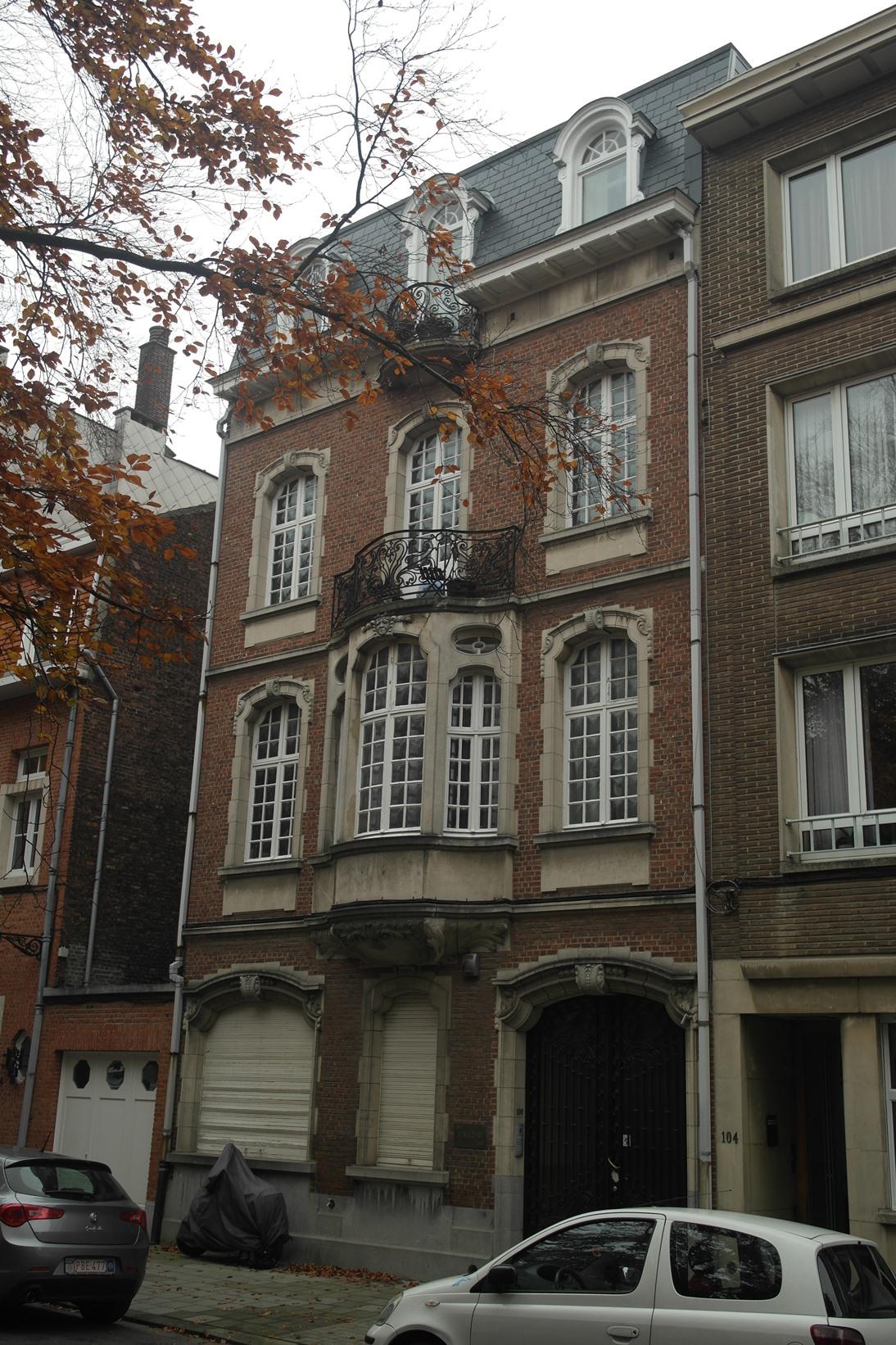 Rue de la Constitution 106, 2014