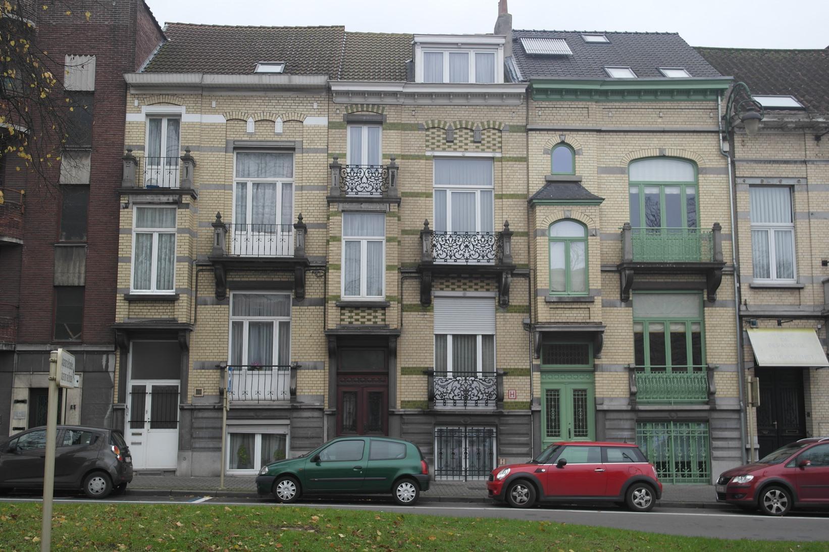 Avenue de Laeken 59, 61 et 63, 2014