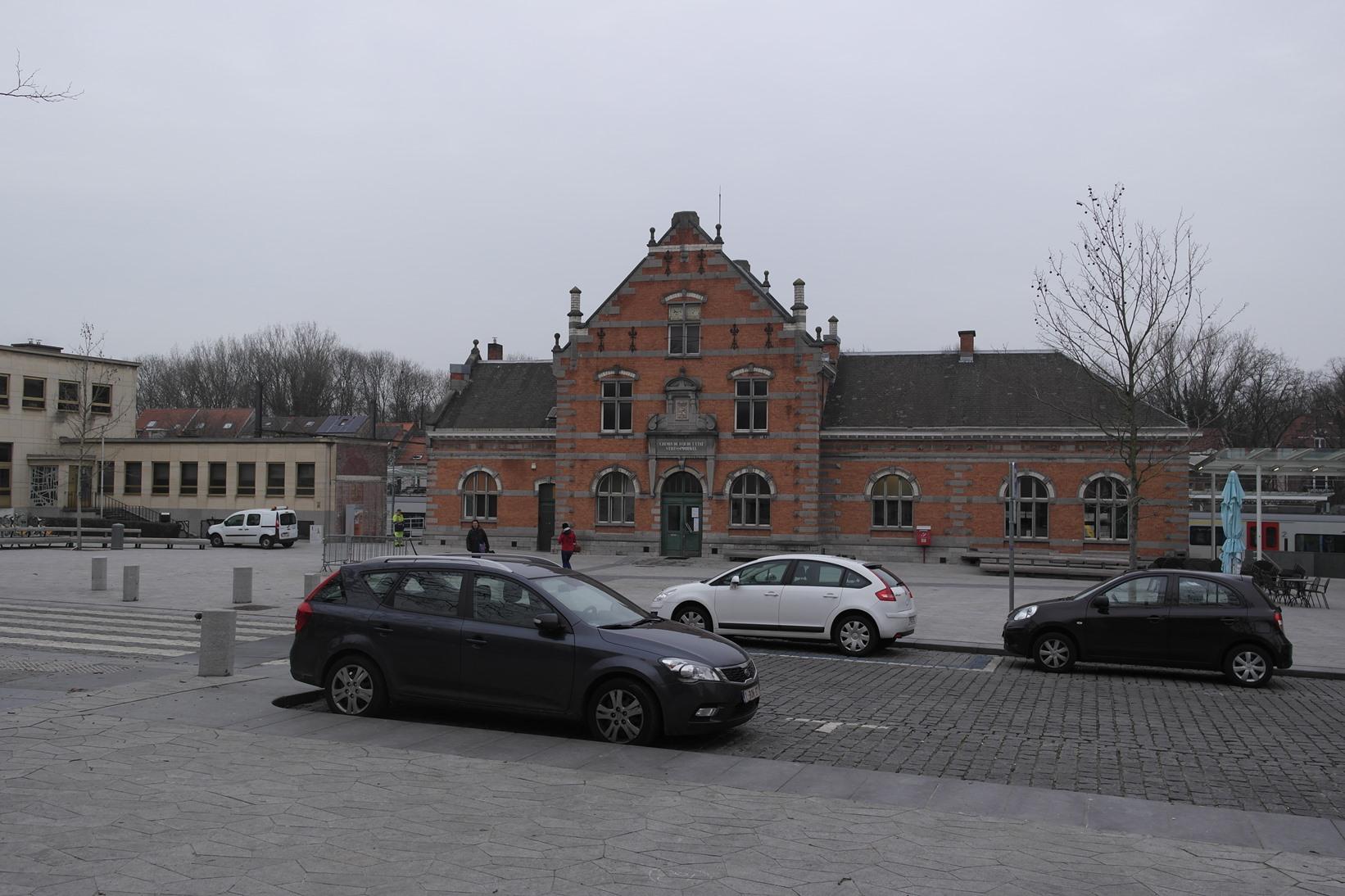 Kardinaal Mercierplein 16, Station van Jette, 2015