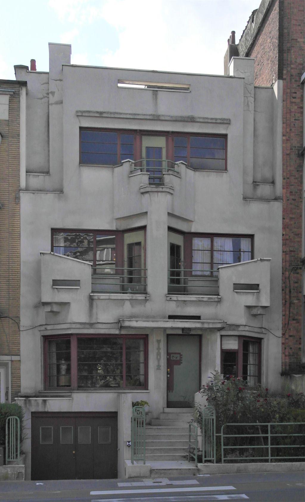 Charles Woestelaan 183, het Withuis of woning van de schrijver-dichter Jef Mennekens, 2019