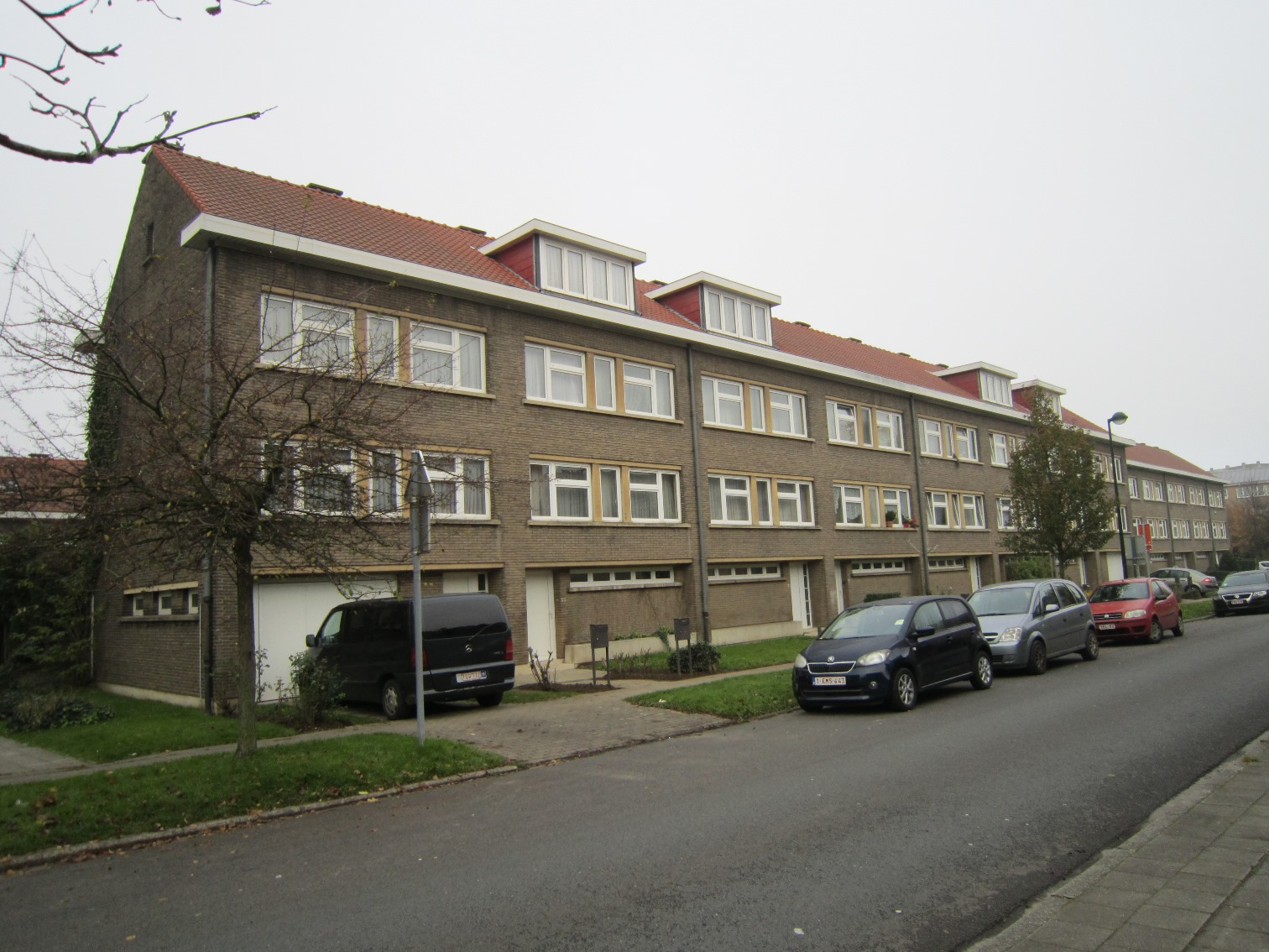 Avenue Constant Permeke 11 à 25, 2014