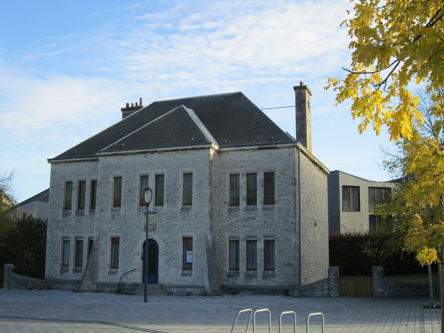 Place Saint-Vincent 1, ancien presbytère, 2014