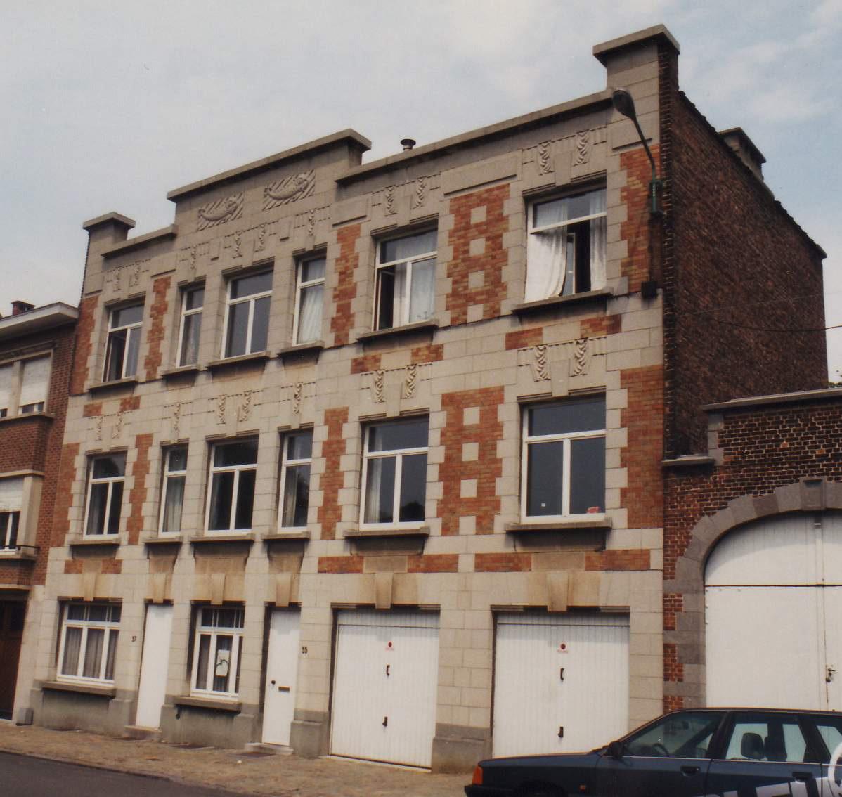 Rue du Collège Saint-Michel 55, état de 1996., 1996