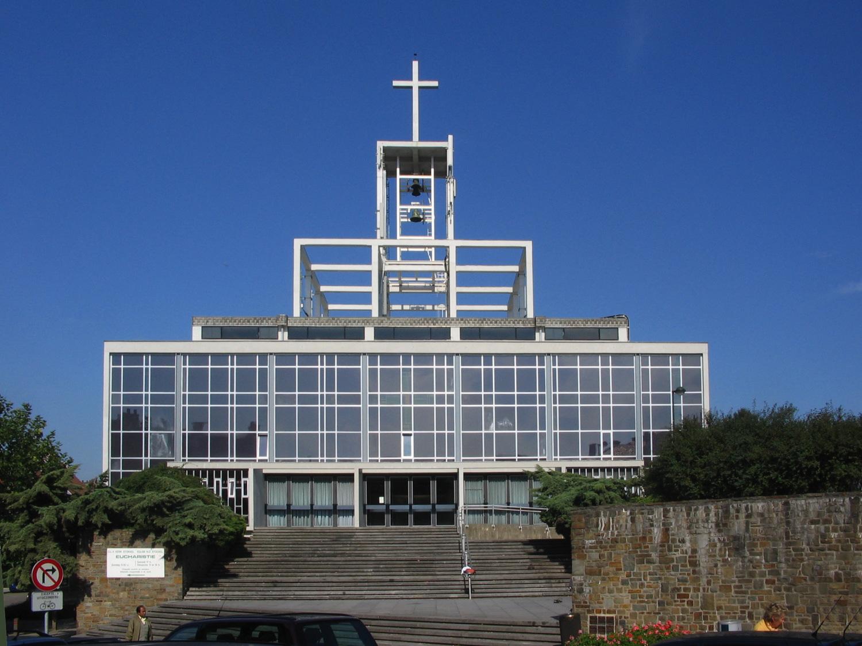 Église Notre-Dame, vue depuis la rue de l'Église., 2005
