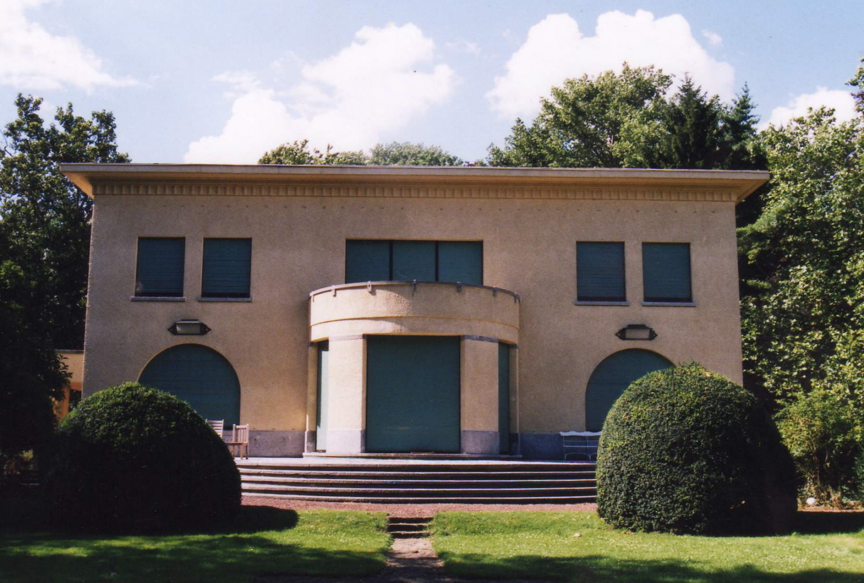 Horizonlaan 21-23, Villa Gosset. Hoofdgevel., 2002