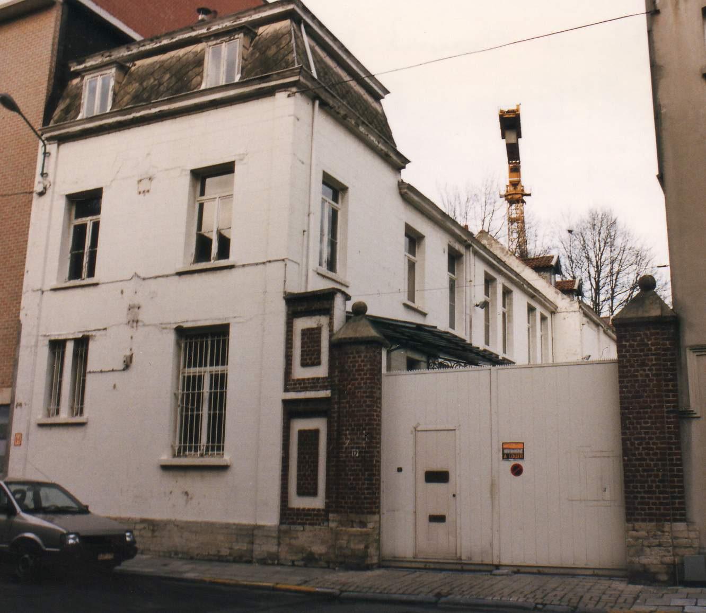 Sint-Huibrechtsstraat 17, toestand voor de renovatie in 1996., 1996