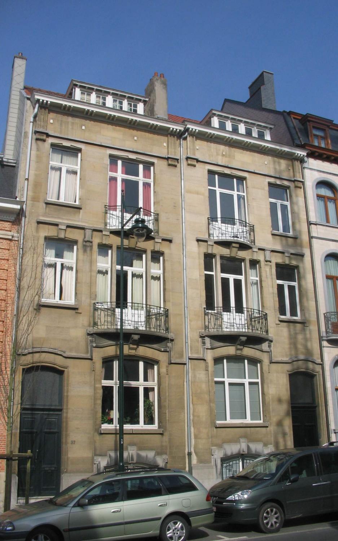 Avenue Roger Vandendriessche 35 et 37., 2007