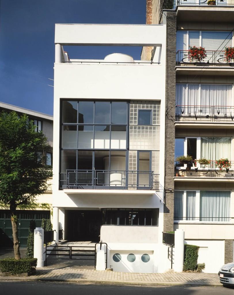 Rue Jules Lejeune 69, La Maison de Verre© Copyright Chr. Bastin  J. Evrard