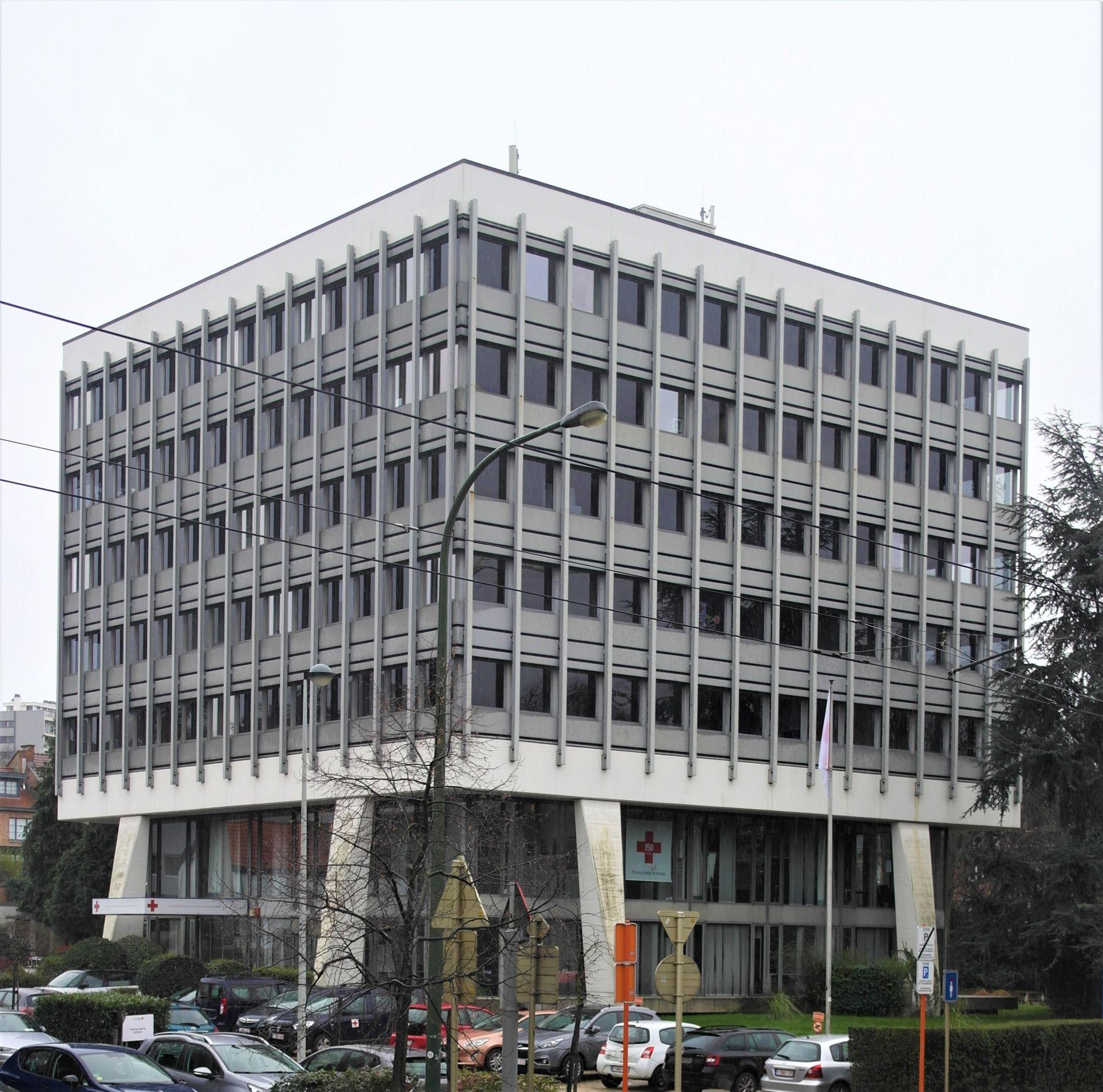 Rue de Stalle 96. Ancien siège Brown, Boveri & Cie, 2020