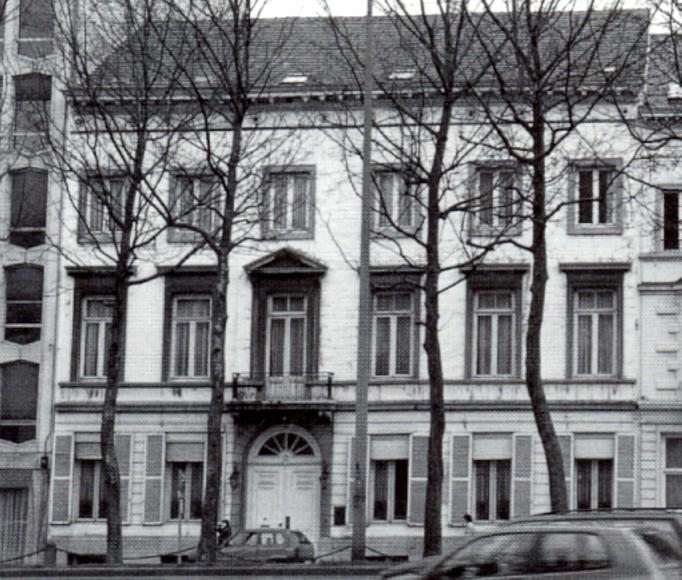 Avenue des Arts 16, Musée Charlier (photo 1993-1995).