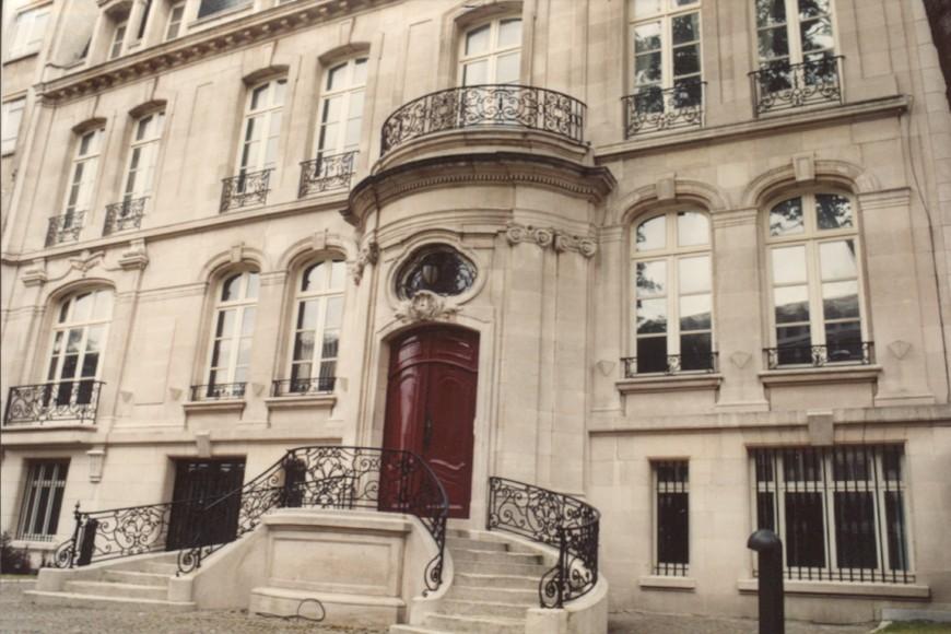 Avenue de l'Astronomie 9, hôtel Vaxelaire (photo 1993-1995).