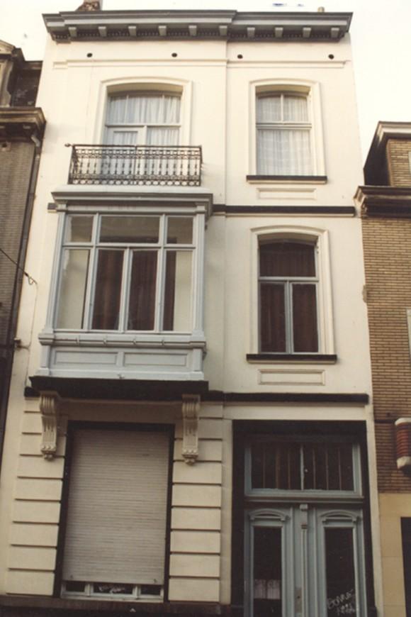 Rue Bonneels 10 (photo 1993-1995).