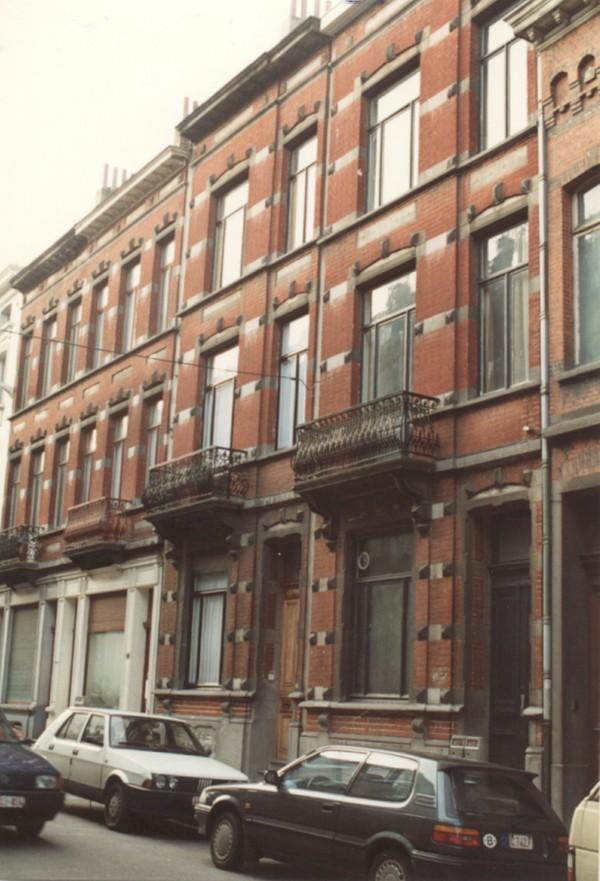 Rue Bonneels 16 à 22 (photo 1993-1995).