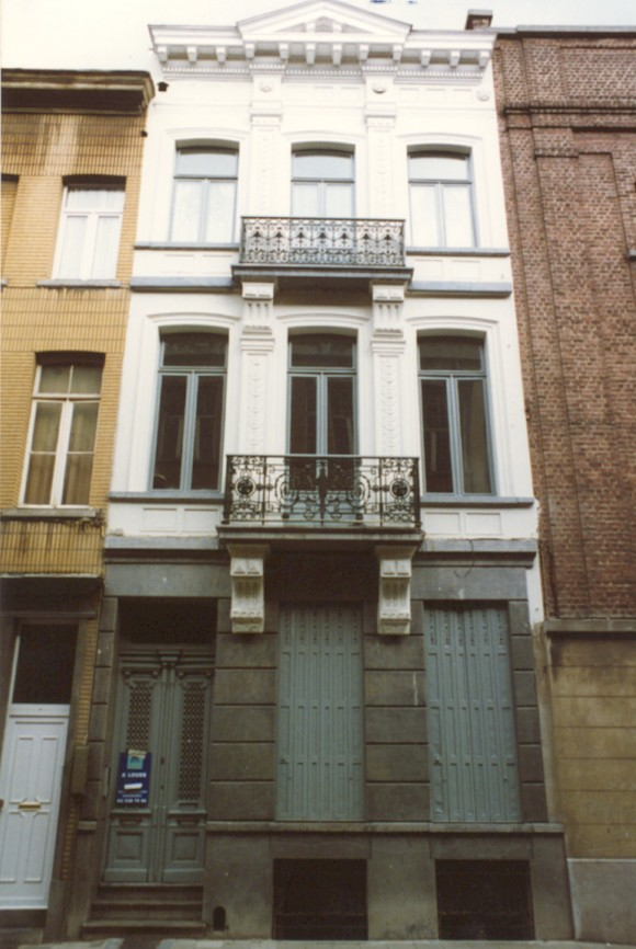 Rue Braemt 82 (photo 1993-1995).
