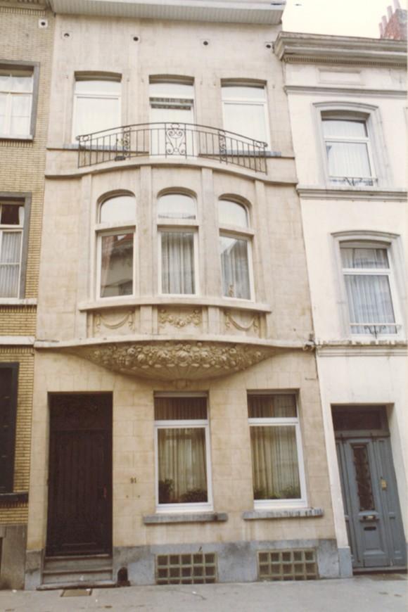 Rue Braemt 91 (photo 1993-1995).