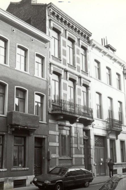 Rue Braemt 106 (photo 1993-1995).
