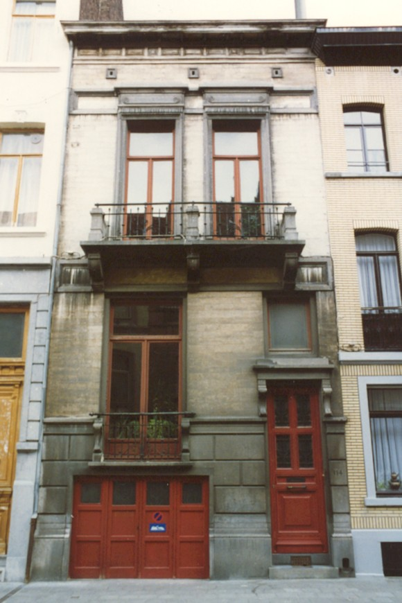 Rue Braemt 114 (photo 1993-1995).