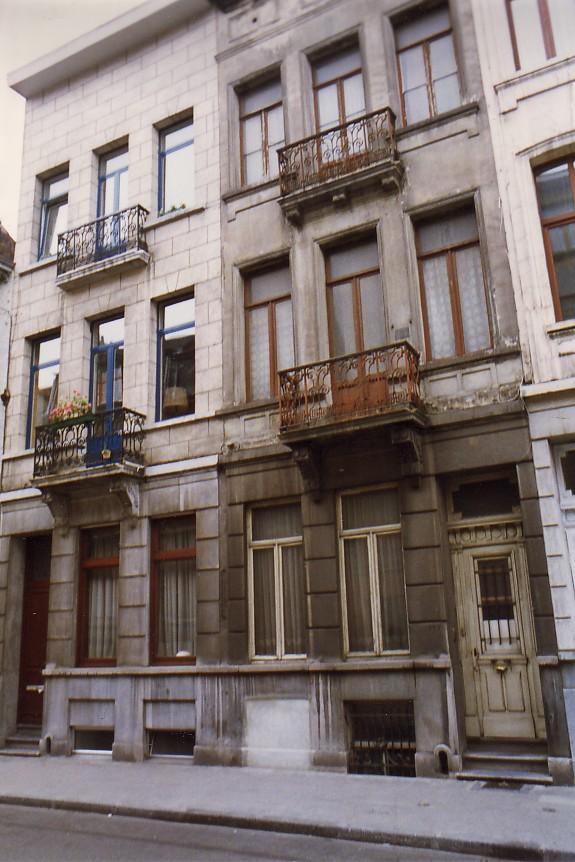 Rue Braemt 115 et 117 (photo 1993-1995).