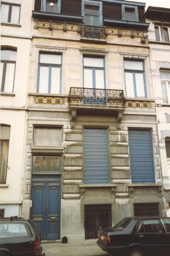 Rue Braemt 120 (photo 1993-1995).