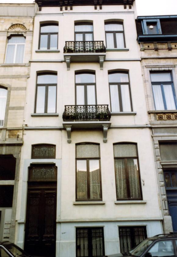 Rue Braemt 122 (photo 1993-1995).