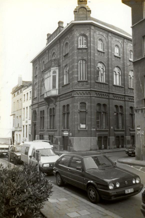 Rue Brialmont 11, résidence du Gesù (photo 1993-1995).