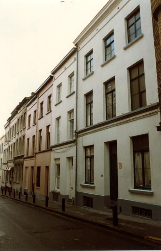 Rue de Bériot 26 à 42 (photo 1993-1995).
