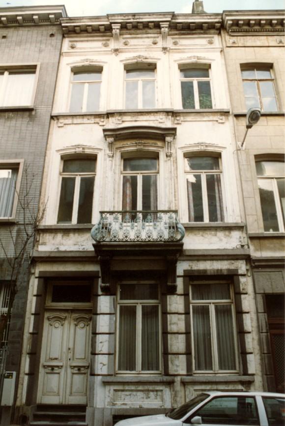 de Bériotstraat 35 (foto 1993-1995).