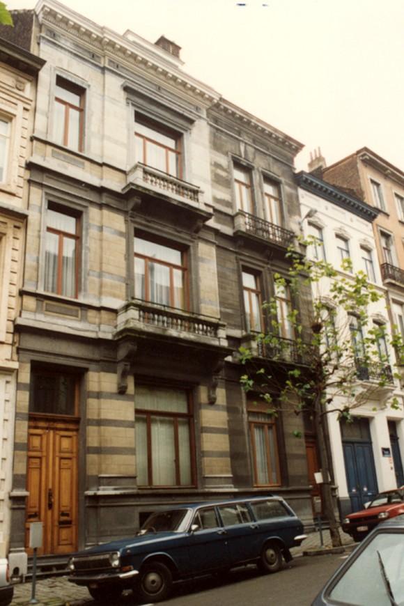 Rue des Deux Églises 61 et 63 (photo 1993-1995).