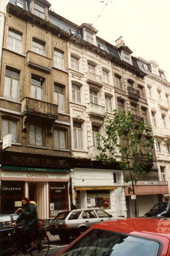 Rue des Deux Églises 130 à 138 (photo 1993-1995).