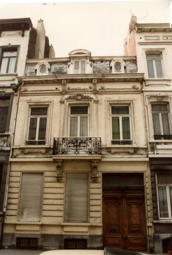 Rue des Deux Tours 47 (photo 1993-1995).