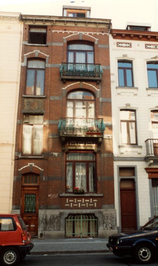 Rue Eeckelaers 11 (photo 1993-1995).