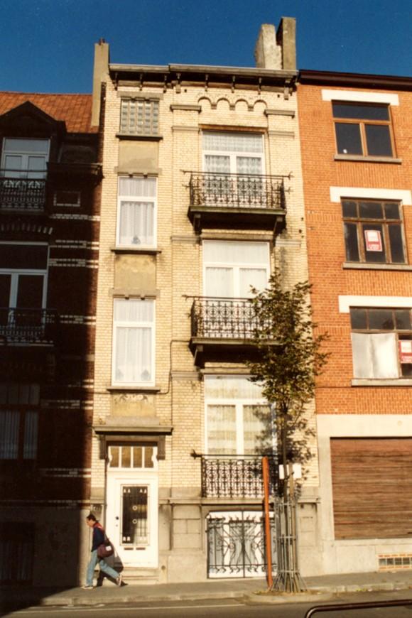 Rue Eeckelaers 42 (photo 1993-1995).
