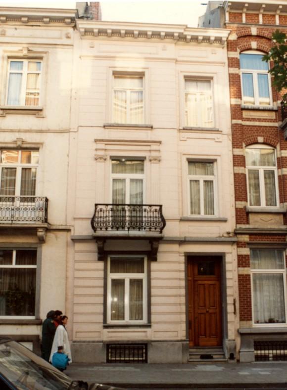 Rue Eeckelaers 47 (photo 1993-1995).