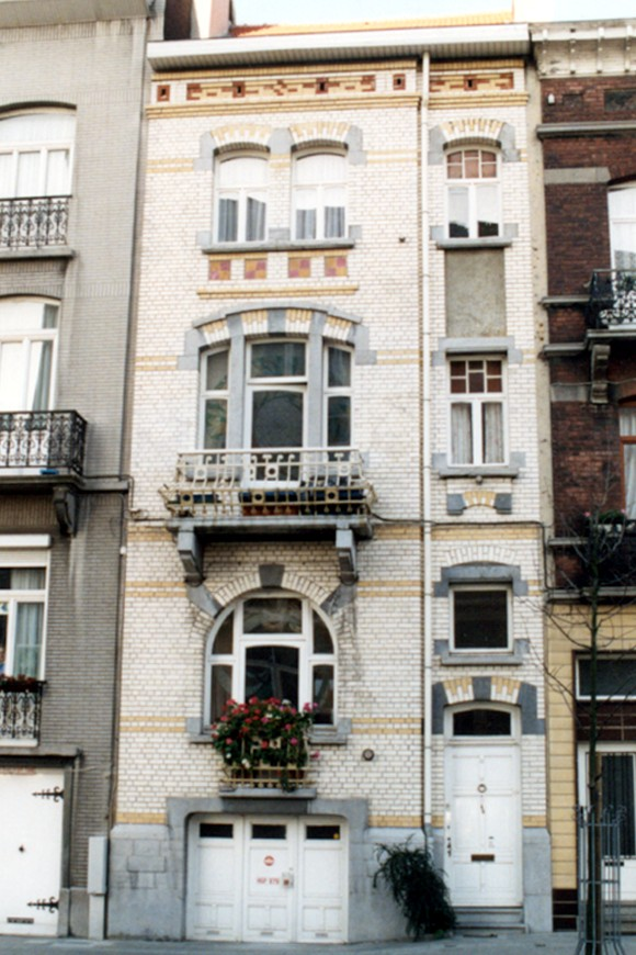 Rue Eeckelaers 48 (photo 1993-1995).